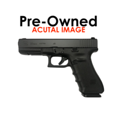 POLICE TRADE IN: [USED] GLOCK 22-GEN4, 40S&W, 3 MAGS, FACTORY BOX