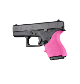 Hogue HOGUE GRIP HANDALL, GLOCK 42/43, SMALL GRIP SLEEVE, PINK