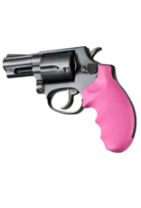 Hogue HOGUE TAURUS SMALL FRAME REVOLVER PINK, SNAP ON MOUNTING ATTACHMENT