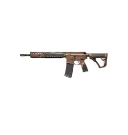 "DANIEL DEFENSE DANIEL DEFENSE DDM4A1, #02-088-15126-011, .223 / 5.56, CARBINE LENGTH, OPTIC READY, 14.5"" + 5.5"" PINNED FH,  DD MIL SPEC+ FDE (WHOLE GUN)"