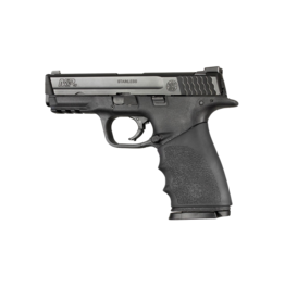 Hogue HOGUE HANDALL, #17400, HANDALL HYBRID S&W M&P9, GRIP SLEEVE, BLACK
