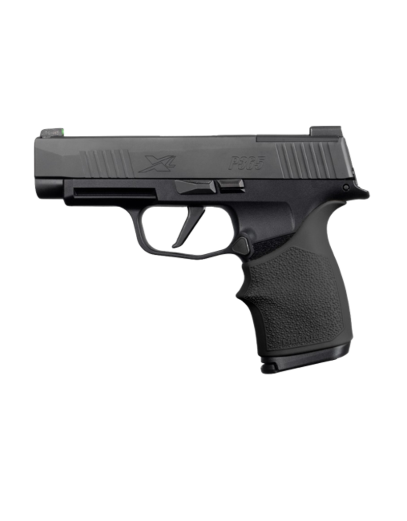 Hogue HOGUE HANDALL, #18710, BEAVERTAIL GRIP SLEEVE, SIG SAUER P365XL, BLACK
