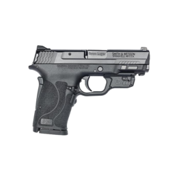 "Smith & Wesson Smith & Wesson 12439 M&P 9 Shield EZ M2.0 9mm Luger 3.68"" 8+1 Black Polymer Grip No Thumb Safety Red Crimson Trace Laser"