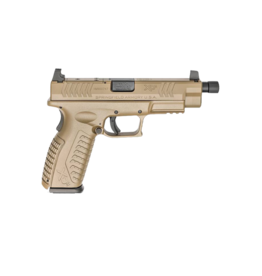 "Springfield Armory SPRINGFIELD XDM, #XDMT94510FHCOSP, 10MM, 4.5"", OSP, FDE"