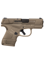 "Mossberg/Maverick MOSSBERG MC1 SUB COMPACT, #89009, 9MM, 3.4"", 2 MAGS, FDE POLY FRAME, FLAT DARK EARTH SLIDE"