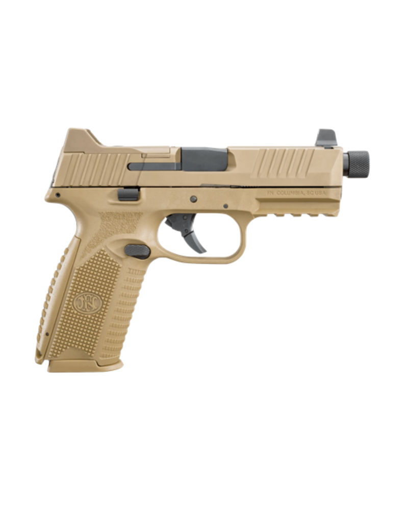 FNH FN 509 TACTICAL FDE, #66-100373, 9MM, 1 - 17RD / 2 - 24RD MAGAZINES
