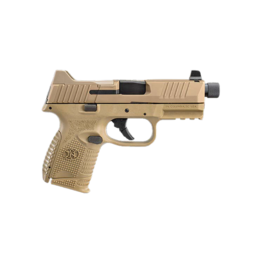 FNH FN 509 COMPACT TACTICAL FDE, #66-100780, 9MM, THREADED BARREL, OPTIC READY