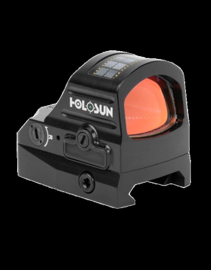 HOLOSUN HOLOSUN 507C-V2 OPTIC, #HE507CGRV2, 1X, 2MOA GREEN DOT, 32MOA GREEN CIRCLE 50K HOUR BATTERY LIFE, SOLAR FAILSAFE, 10DAYLIGHT 2 NV SETTINGS