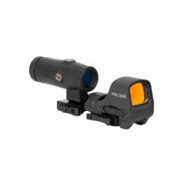 HOLOSUN HOLOSUN HS510C / HM3X COMBO, 2 MOA CIRCLE DOT, RED DOT, 3X MAGNIFIER, CR1632 BATTERY