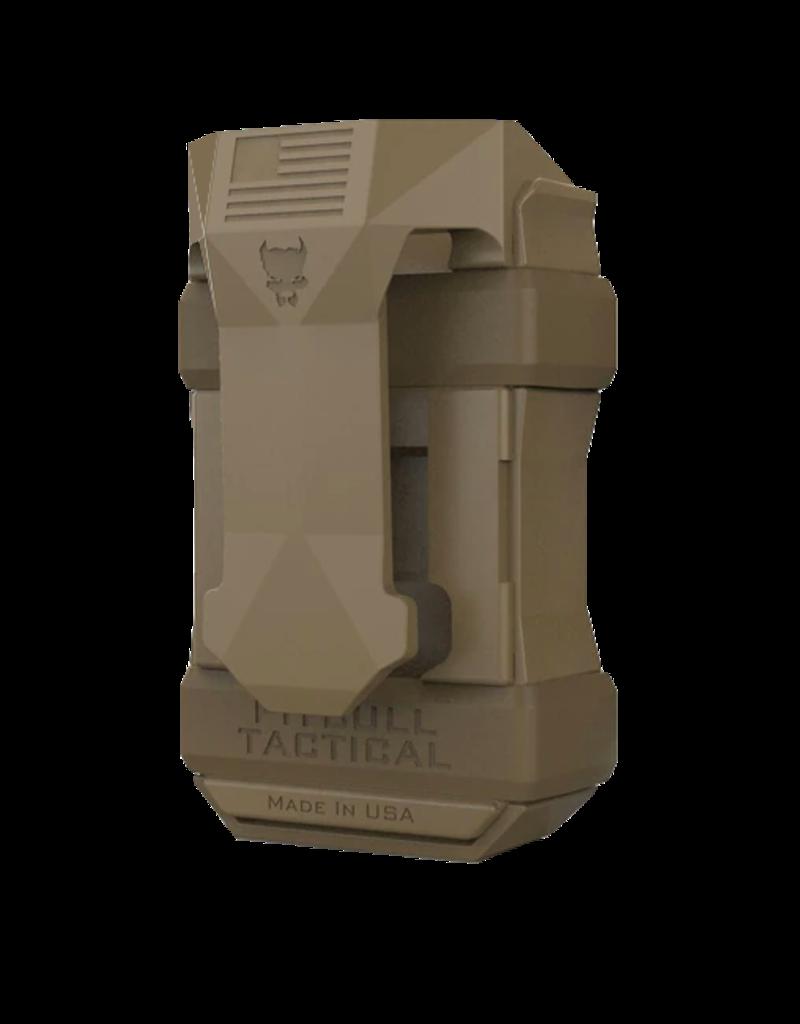 Pitbull Tactical PITBULL TACTICAL MAGAZINE POUCH, SIZE UNIVERSAL, FDE