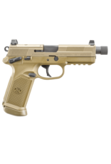 FNH FN FNX TACTICAL, #66968, .45ACP, 5.3 IN THREADED BARREL, FDE