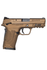 Smith & Wesson SMITH & WESSON M&P 9 SHIELD EZ, #13318, 9MM, 8 RD, CONTRAST SIGHTS, THUMB SAFETY, BURNT BRONZE