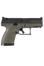 CZ CZ P-10 SUB COMPACT, OD GREEN, #91565, 9MM, REVERSIBLE MAG CATCH