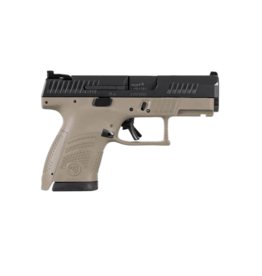 CZ CZ P-10 SUB COMPACT, FDE, #91561, 9MM, REVERSIBLE MAG CATCH