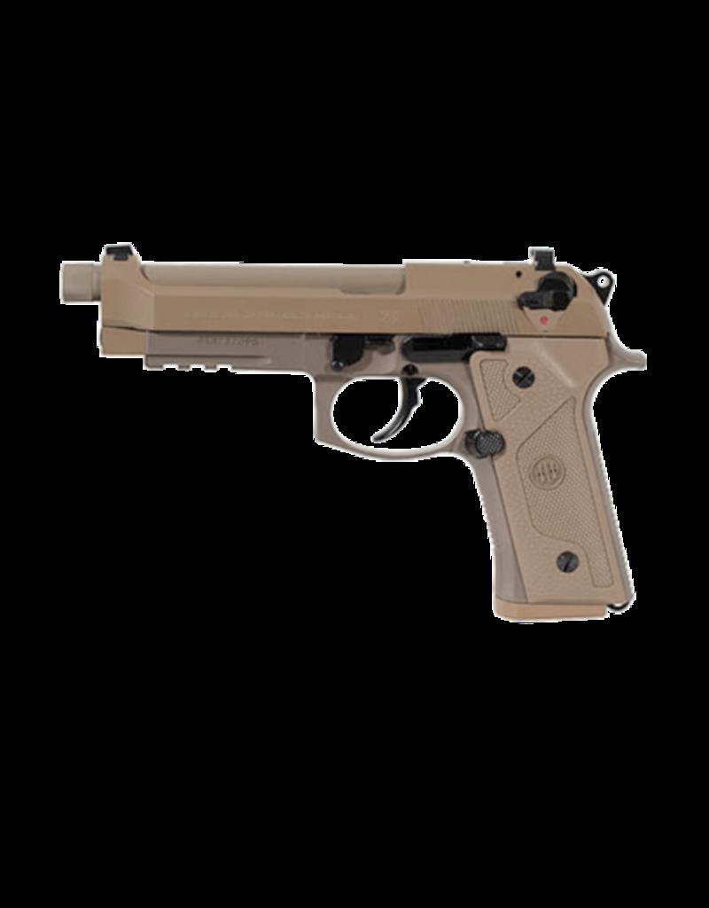 Beretta BERETTA M9A3,  #JS92M9A3GM, 9MM, DECOCK ONLY, 3-17RD FDE THREADED BARREL
