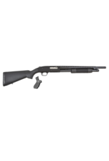 "Mossberg/Maverick MOSSBERG 500, #50515, 12GA, 18"", BLUE, VENT RIB, BEAD SIGHTS, HEAT SHIELD, PISTOL GRIP KIT"