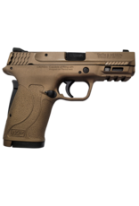 Smith & Wesson SMITH & WESSON M&P380 SHIELD EZ, #13291, 380ACP, NO THUMB SAFETY, 3 DOT SIGHT, BURNT BRONZE