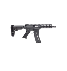 Smith & Wesson SMITH & WESSON M&P 15-22 PISTOL, #13321, 22LR, FREE-FLOAT HANDGUARD, SBA-3 BRACE