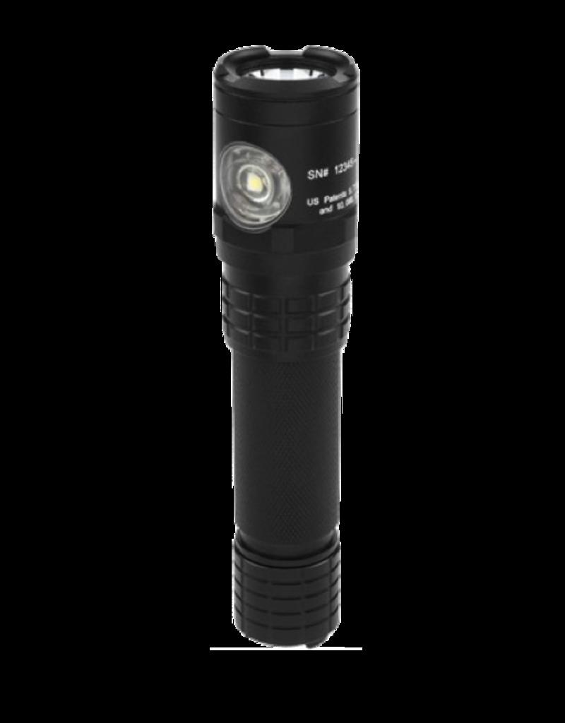 Nightstick NIGHTSTICK USB DUAL LIGHT RECHARGABLE TAC FLASHLIGHT, USB-578XL, 900 LUMEN, LED, BLACK