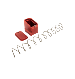 SHIELD ARMS SHIELD ARMS GLOCK 26/27 +5/+4, G26-ME-5-RED, RED
