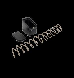 SHIELD ARMS SHIELD ARMS CZ P10S +5 MAG EXTENSION, CZP10S-ME-5-BLK, BLACK