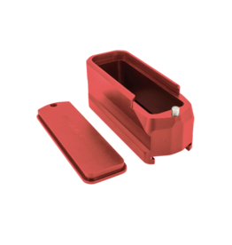 SHIELD ARMS SHIELD ARMS MAGPUL PMAG GEN 3 MAG EXTENSION, SA-ME-PMAG5-RED, RED
