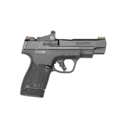 Smith & Wesson SMITH & WESSON, M&P 9 SHIELD PLUS, #13251, 9MM, 1-10/1-13RD, F/O SIGHTS, CRIMSON TRACE RED DOT