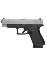 "Glock GLOCK 48, #PA485SL702, 9MM, 4"", SINGLE STACK, 10RD, 2 MAGAZINES, SILVER nPVD, GLOCK NIGHT SIGHTS"