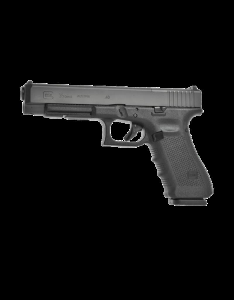 Glock GLOCK 35 GEN 4 MOS, #UG3530102MOS, 40 S&W, 4.5LB TRIGGER