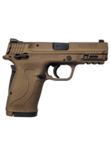 Smith & Wesson SMITH & WESSON M&P380 SHIELD EZ, #13290, 380ACP, THUMB SAFETY, 3 DOT SIGHT, BURNT BRONZE