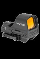 HOLOSUN HOLOSUN HS510C, RED DOT, SOLAR, MULTI RETICLE, BLACK