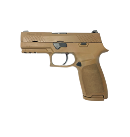 """Sig Sauer LE SIG SAUER P320 CARRY, W320CA-9-COY, 9MM, 3.9"""", SIGLITE NIGHT SIGHTS, 3-17RD MAGAZINES, COYOTE TAN"""