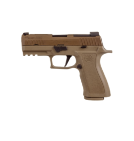 """Sig Sauer LE SIG SAUER P320 X-CARRY, W320XCA-9-BXR3-COY, 9MM, 3.9"""", XRAY3 NIGHT SIGHTS, OPTIC READY, 3-17RD MAGAZINES, COYOTE TAN"""