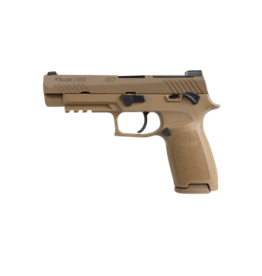 """Sig Sauer LE SIG SAUER M17, P320 FULL, W320F-9-M17-MS, 9MM, 4.7"""", SIGLITE NIGHT SIGHTS, OPTIC READY, 1-17/2-21RD MAGAZINES, MANUAL SAFETY, COYOTE TAN"""