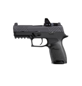 """Sig Sauer LE SIG SAUER P320 COMPACT, W320C-9-BSS-RXP-6, 9MM, 3.6"""", SIGLITE NIGHT SIGHTS, 3-15RD MAGAZINES, 6MOA, ROMEO 1 PRO RED DOT"""