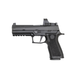 """Sig Sauer LE SIG SAUER P320 FULL, W320F-9-BXR3-LDC-PRO-RXP, 9MM, 4.7"""", TALL XRAY3 NIGHT SIGHTS, 3-17RD MAGAZINE, LONG DUST COVER, 3MOA, ROMEO 1 PRO RED DOT"""