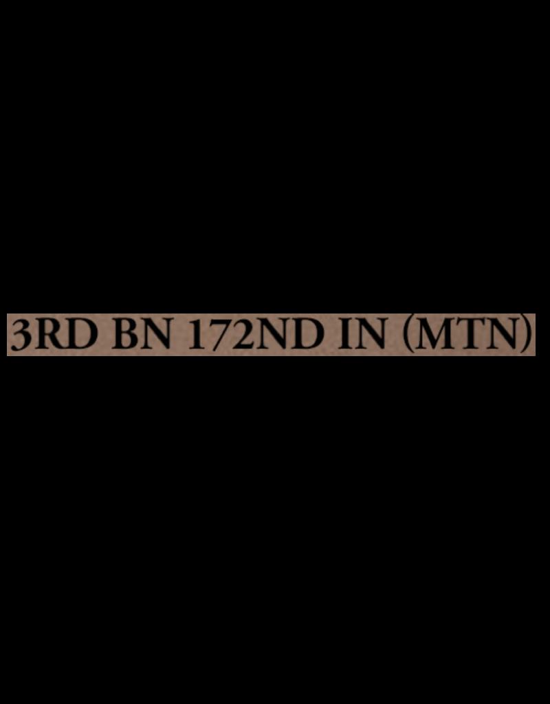 Sig Custom Works Engraving Program SIG CUSTOM WORKS ENGRAVING : 3RD BN, 172ND INF - M18