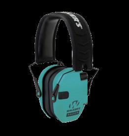Walker's WALKER'S RAZOR ELECTRONIC EARMUFF, #GWP-RSEM-LTL, TEAL