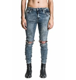 KOLLAR KOLLAR BLOWN OUT KNEE DENIM SS20