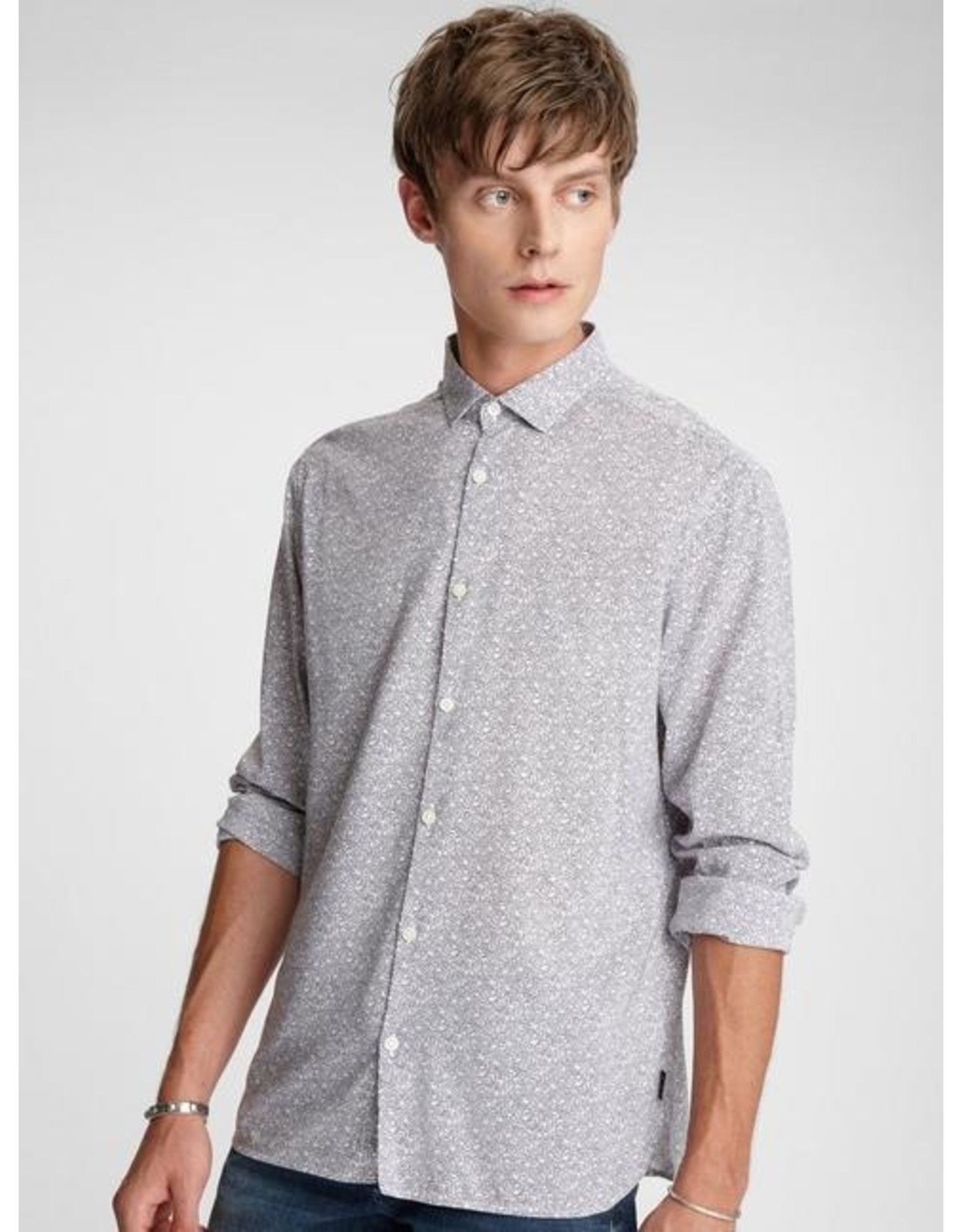 JOHN VARVATOS JOHN VARVATOS SOFT BUTTON UP SS20