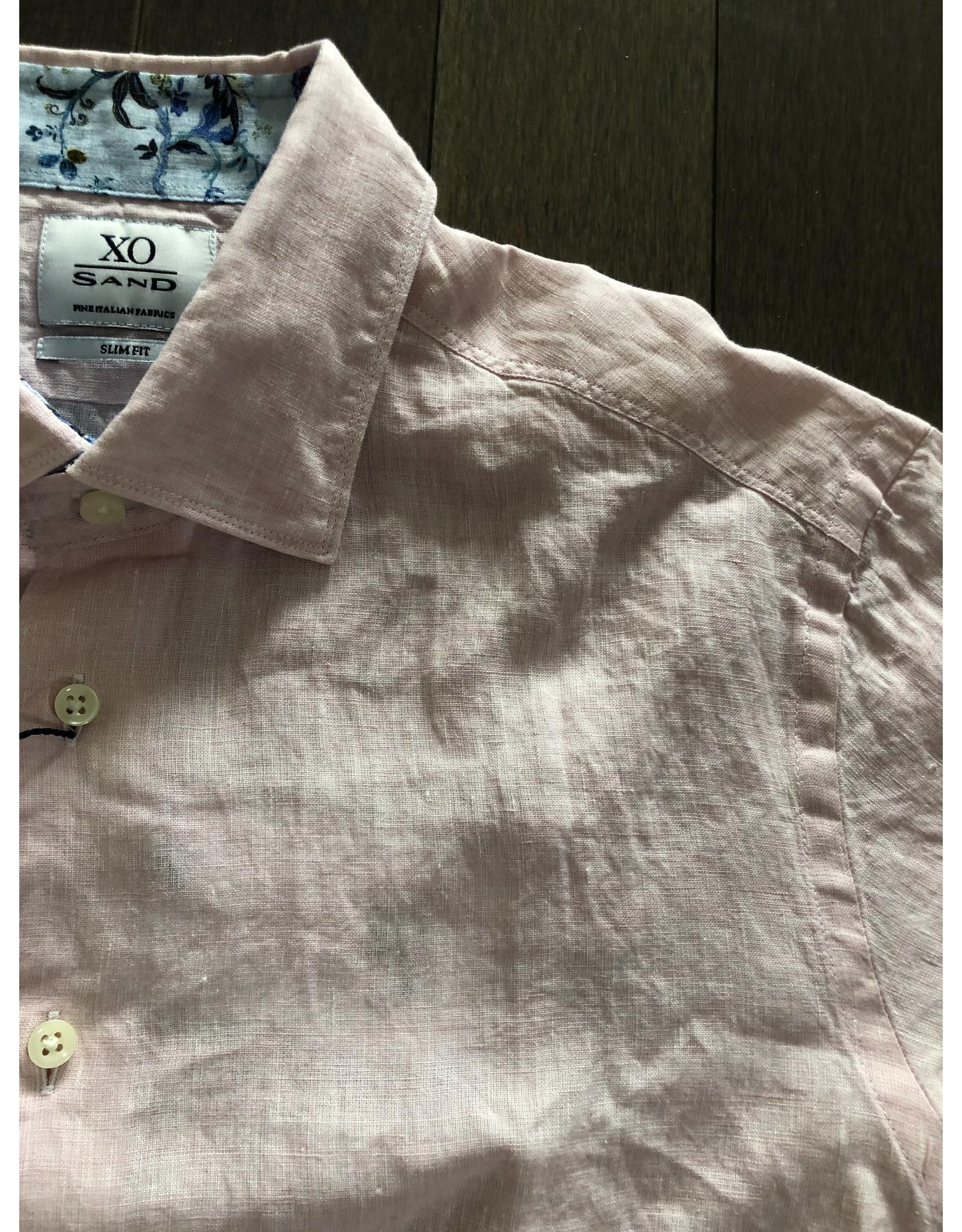 SAND COPENHAGEN SAND LINEN DRESS SHIRT SS20