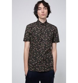 HUGO HUGO SHORT SLEEVE SLIM PRINTED BUTTON UP SS20