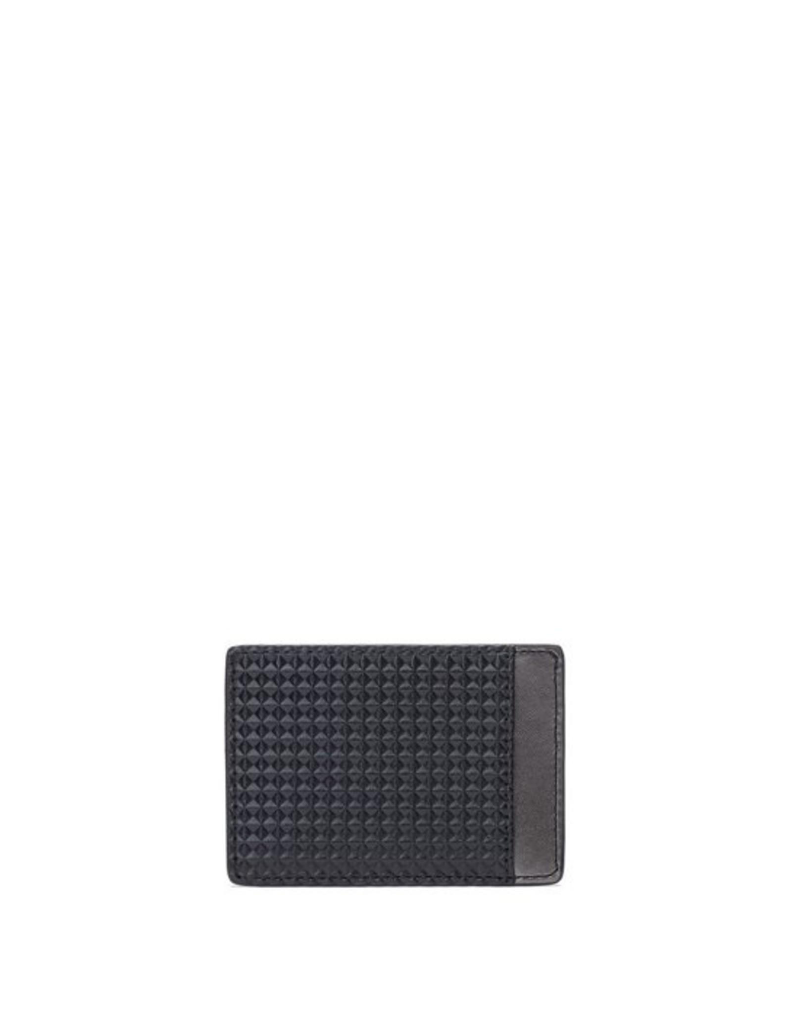 HUGO HUGO DIAMOND CARD HOLDER AND MONEY CLIP