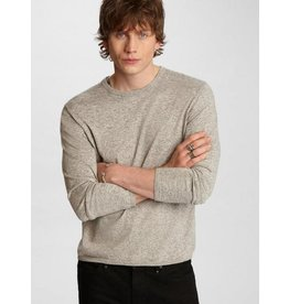 JOHN VARVATOS JOHN VARVATOS Huntington LS Crew Neck - Grey