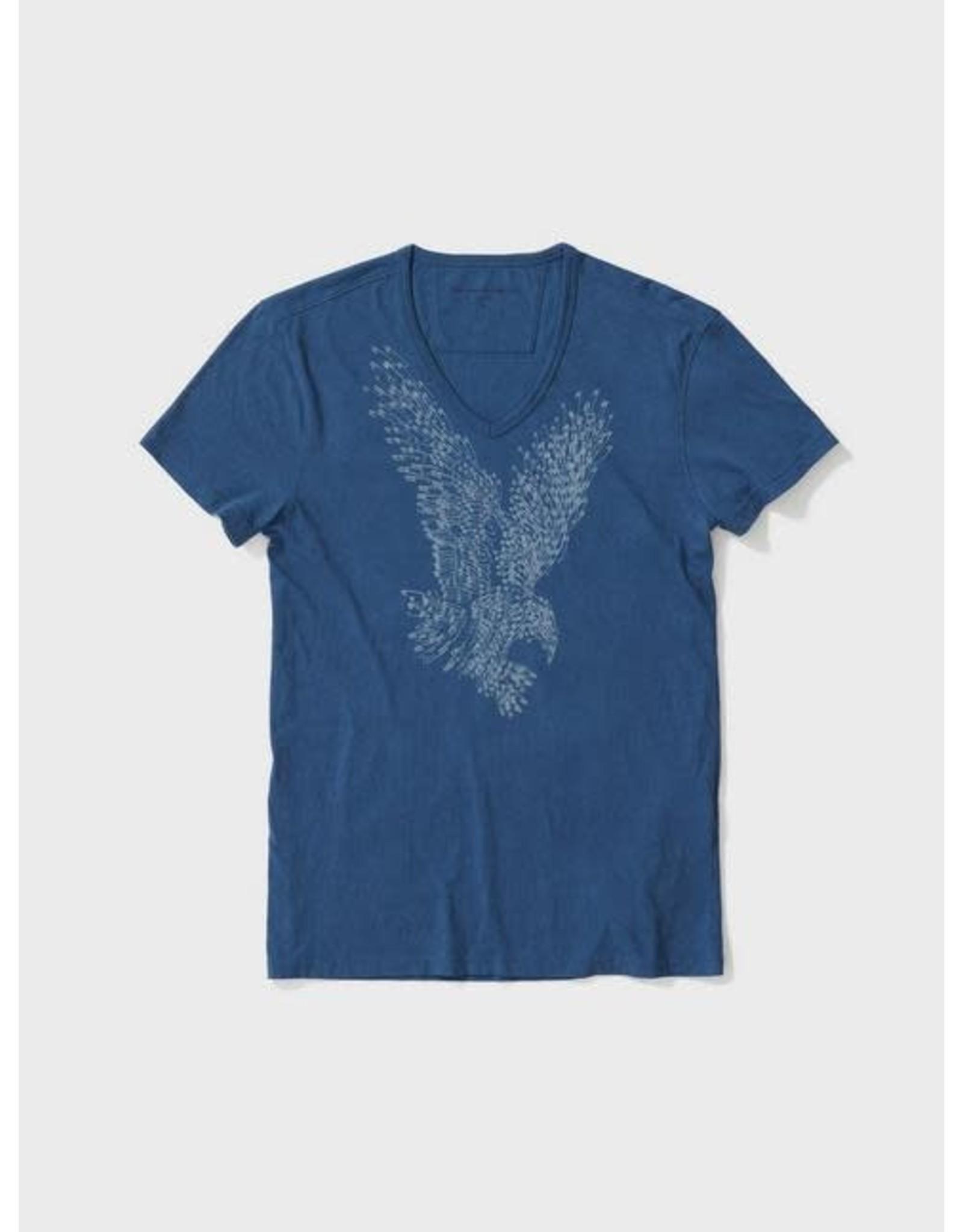 JOHN VARVATOS JOHN VARVATOS Eagle Pins Short Sleeve Graphic Tee