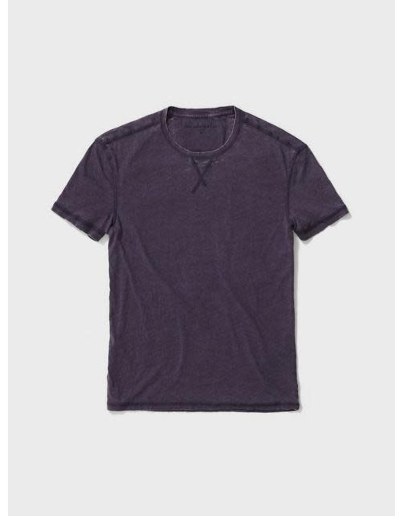 JOHN VARVATOS JOHN VARVATOS Short Sleeve Burnout - Purple