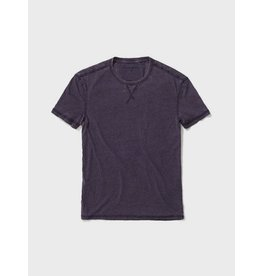JOHN VARVATOS JOHN VARVATOS Short Sleeve Burnout - Purple