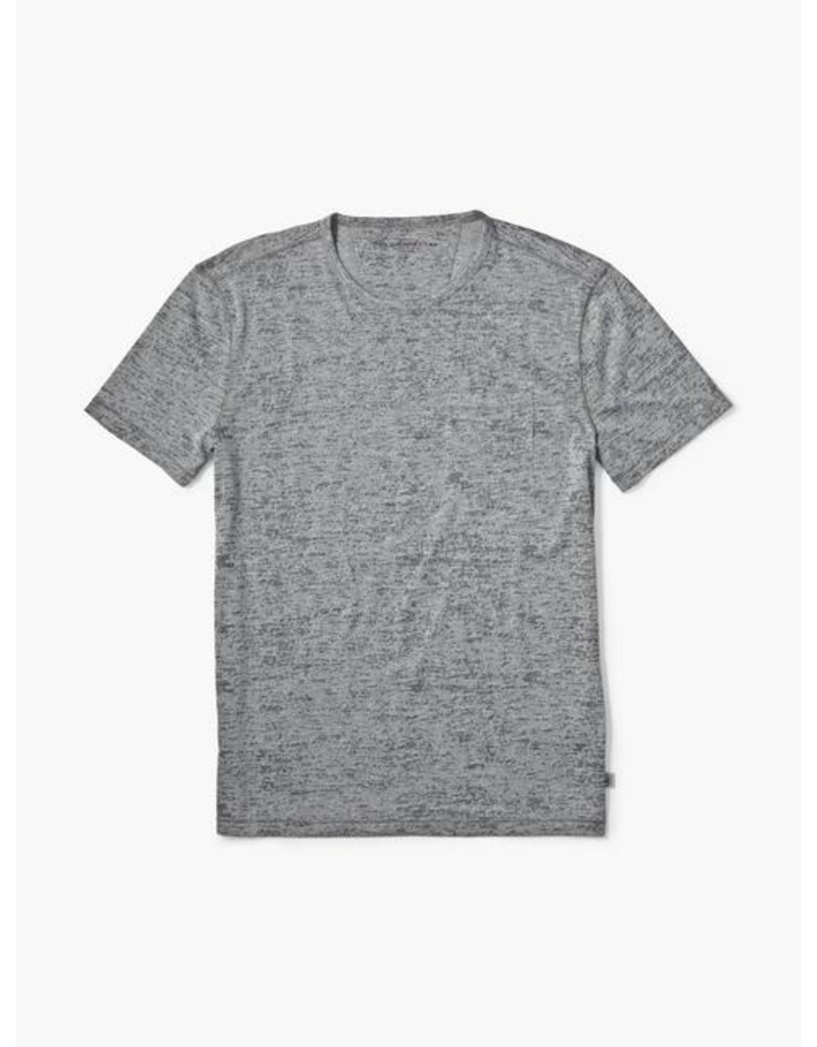 JOHN VARVATOS JOHN VARVATOS Short Sleeve Burnout - Light Grey