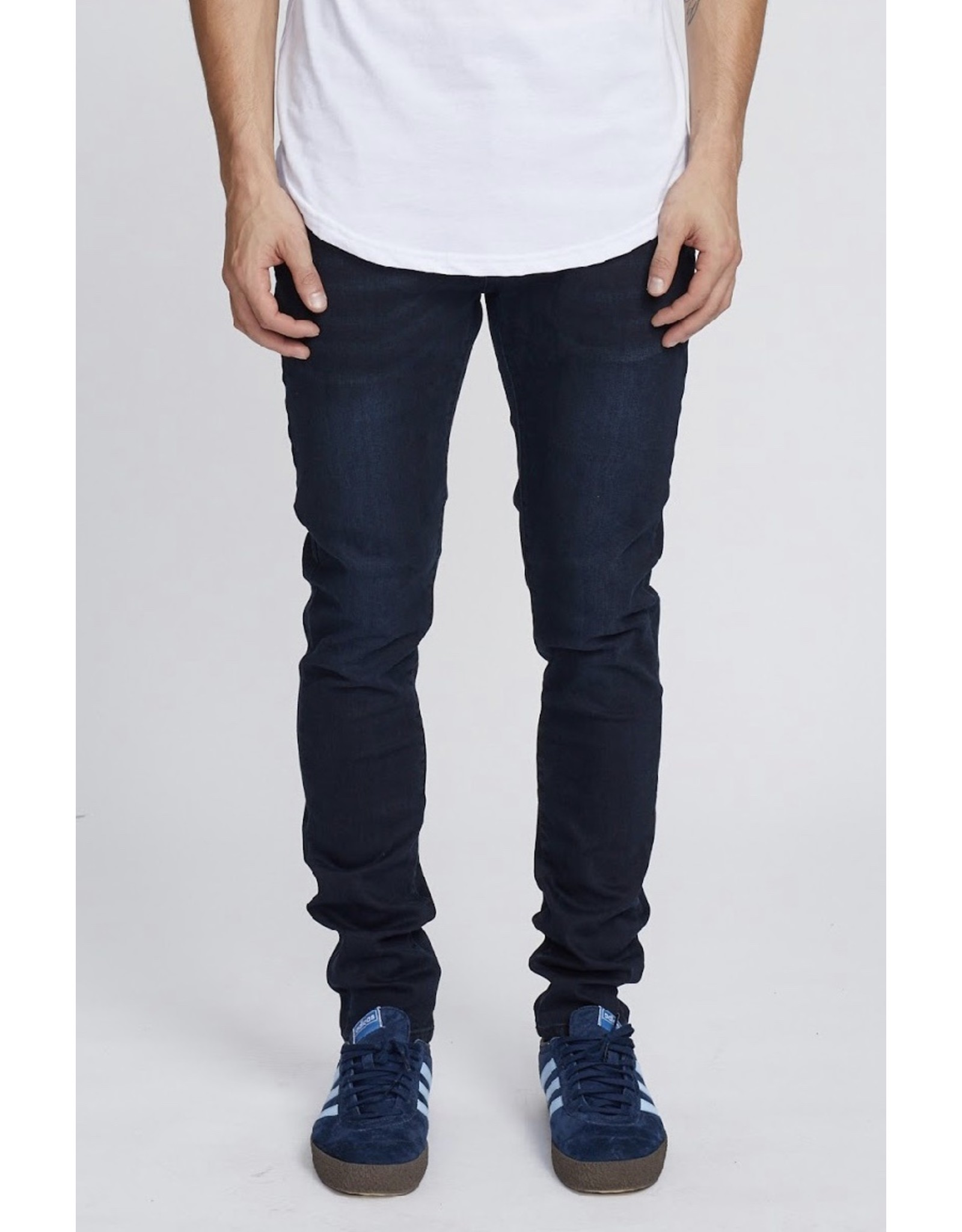 KUWALLA TEE KUWALLA TEE OVER DYE ESSENTIAL DENIM