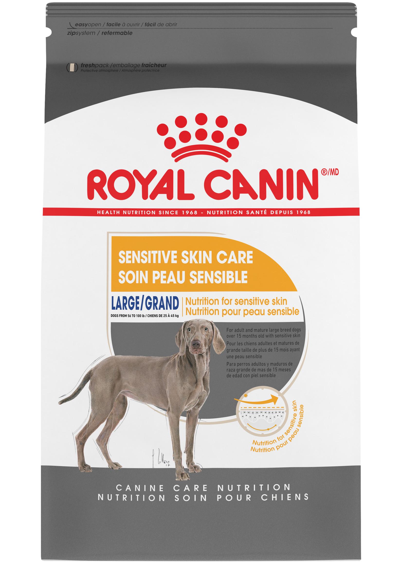 Royal Canin Royal Canin Dog Large Sensitive Skin Care 30lb